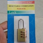 Khóa đồng số Pad Lock CJSJ Resettable combination