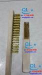 Chổi đánh rỉ cán gỗ(bàn chải đồng)
