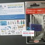Bộ Lục giác Nhật Bản EIGHT TS-6 japan Hex Key set