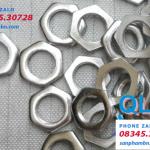 Đai ốc Nuts ecu M10 mỏng ren mịn 0.75-1mm