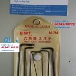 Bộ Lục giác Nhật Bản EIGHT M-7M japan Hex Key set (7 cây)
