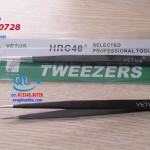 Nhíp chống tĩnh điện đầu thẳng VETUS Tweezers ESD 11