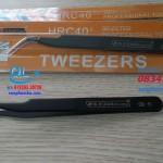 Nhíp chống tĩnh điện đầu cong Tweezers ESD 15