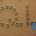 Đai ốc vuông Nuts Ecu M6 inox 304