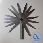 Thước lá 0.02-1mm đo độ mỏng