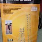 Thang nhôm 5m rút đôi Ladder 2.5m+2.5m