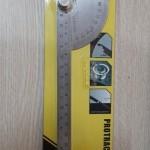 Thước đo độ góc bán nguyệt LL30129 200mm