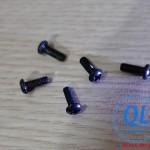 Bulong Screw vít pake đầu tròn M2x5 M2*5 đen