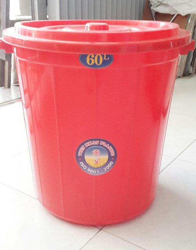 Thùng nhựa 60 lít